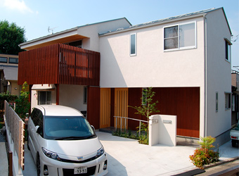 浦和の家外観写真
