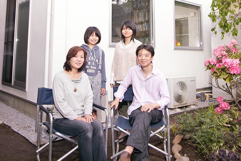 T様(さいたま市)家族の写真