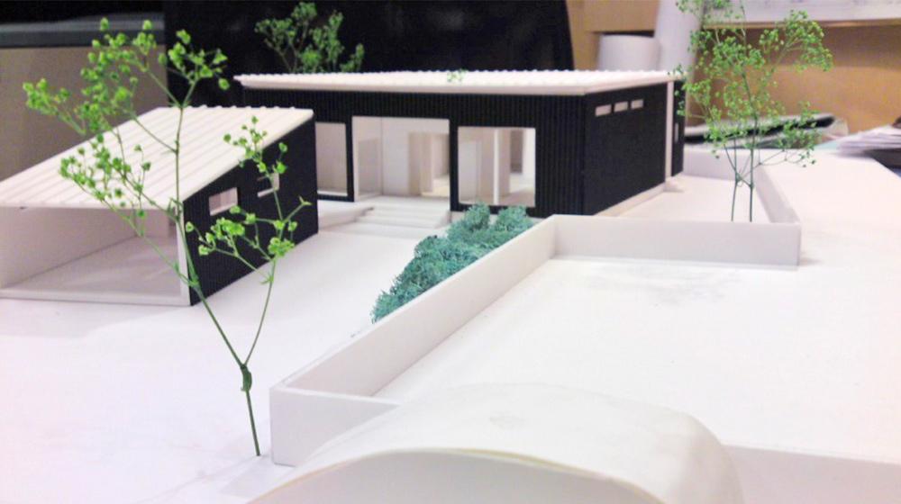 建築模型例の写真